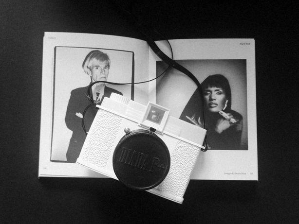 Aparat Diana F+ Lomography - Biały, limited edition, Edelweiss