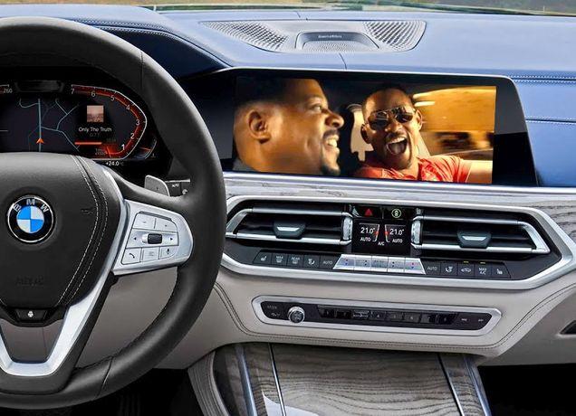 BMW VIM Video in Motion Nawigacja MGU Live X7 X6 X5 G30 G20 G15 G11