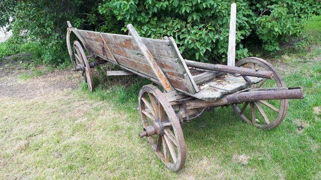 Wóz zabytkowy konny