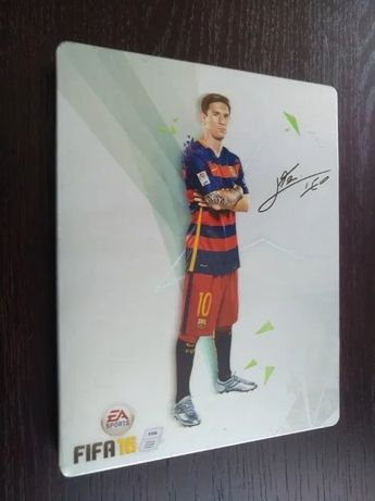 Gra PS3 Fifa 16 Steelbook Messi | Zobacz u mnie Move, GTA, Playstation