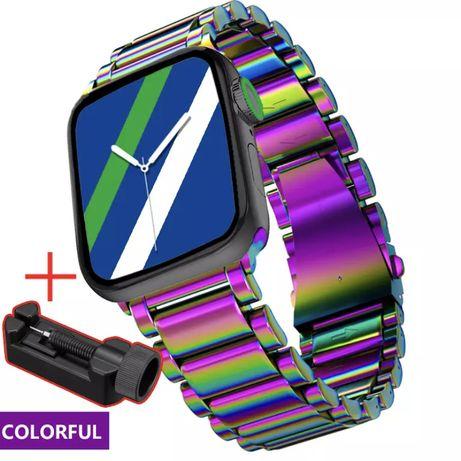 Ремешок металлический из нержавеющей стали для Apple Watch 38-40мм