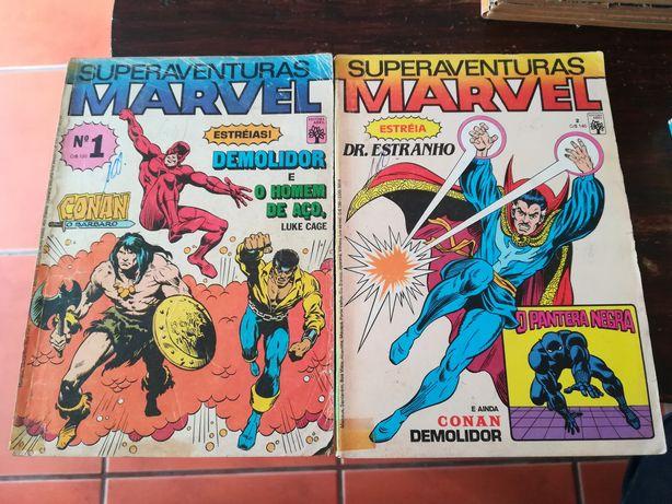 114 Livros Super Aventuras Marvel