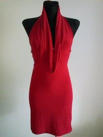 Czerwona sukienka seksowna Kiah S M