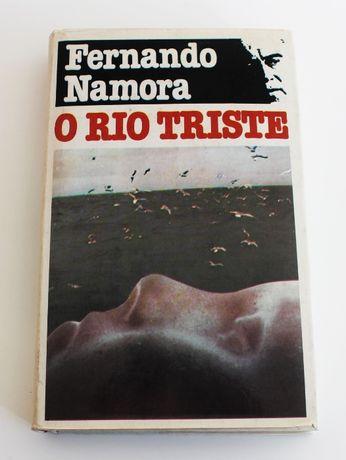 O rio triste de Fernando Namora edição de 1983 da Círculo de Leitores