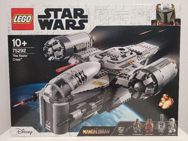 NOWE LEGO Star Wars 75292 - Transportowiec łowcy nagród, Brzeszczot