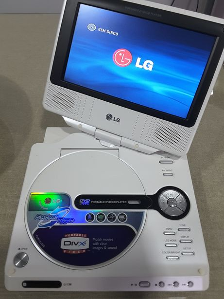 DVD / CD player portátil LG