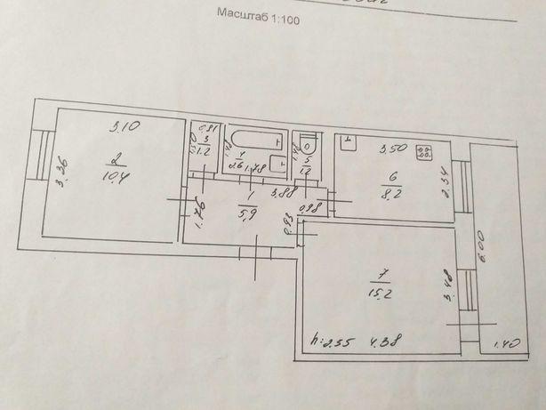 Продам 2-х комнатную квартиру в Купянск-Узловой