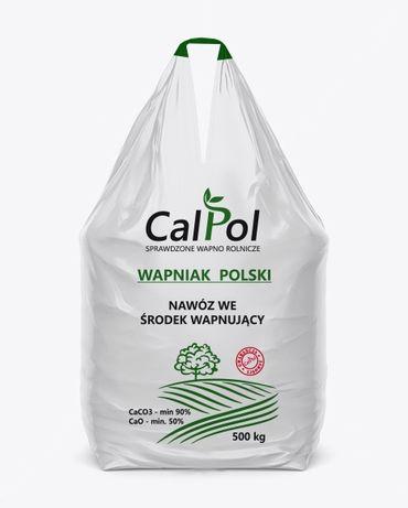 Wapno granulowane WAPNIAK POLSKI firmy CALPOL najskuteczniejszy nawóz