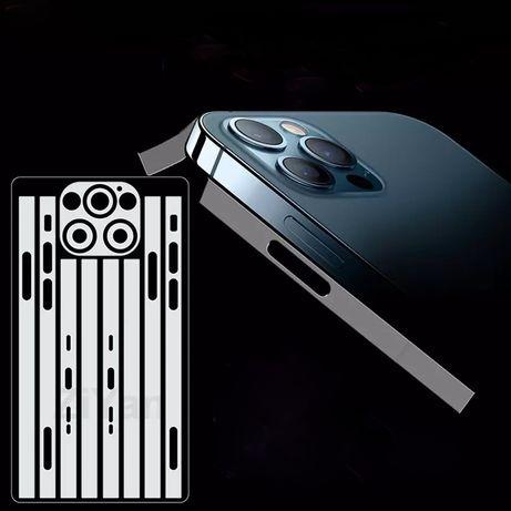 Гидрогелевая пленка на обод боковую часть iPhone 12, 12Pro