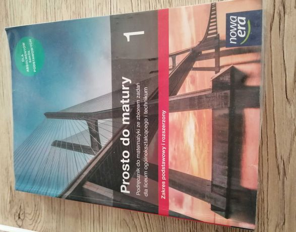 Podręcznik Prosto do matury 1