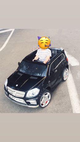 Детский электромобиль Bambi Mercedes Черный
