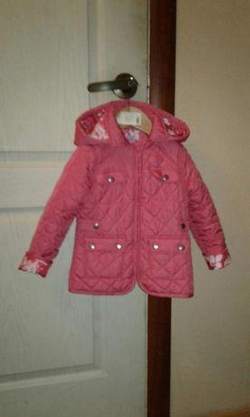 Фирменная курточка на девочку F&F 2-3 года по бирке