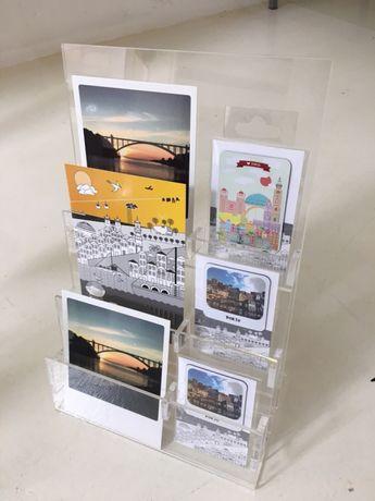 Expositor para postais 10x15 e cartões - NOVOS