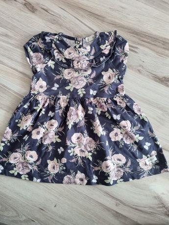 Newbie 86 sukienka kwiaty