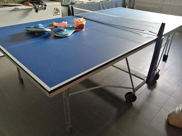 Mesa de Ping Pong com acessórios