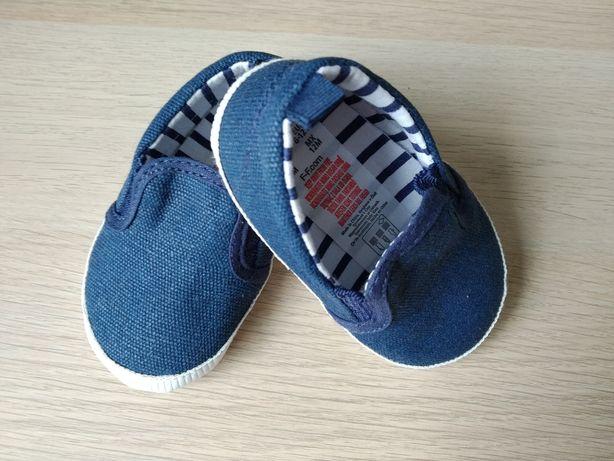 Trampki, buciki dla niemowlaka, niechodki, F&F, 6-12m