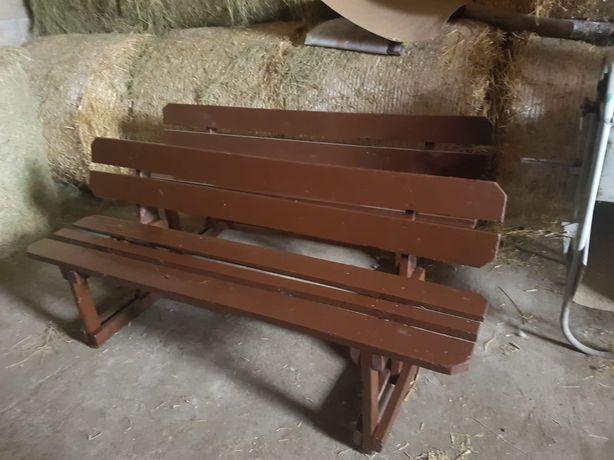 Ławka drewniana 2 szt