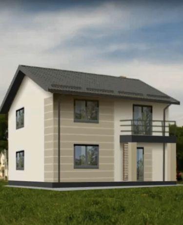 Проект дома 100 квадратов