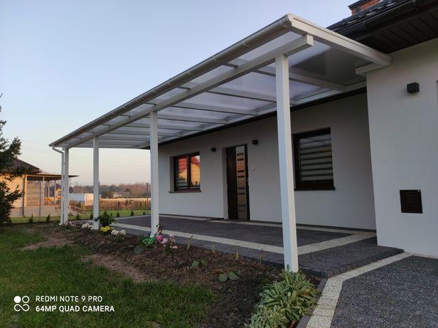 Ogrody zimowe,  zadaszenie tarasu i balkonu, wiaty garażowe. .
