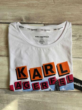 Nowy tshirt damski KARL LAGERFELD rozm. M