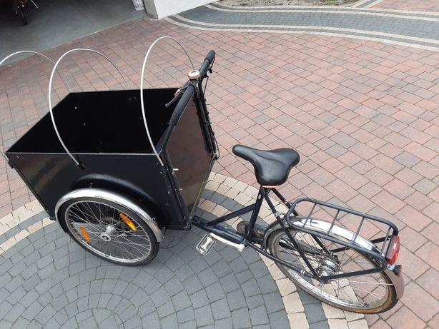 Rower, riksza,wózek