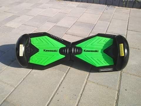 Hoverboard Kawasaki + pokrowiec, deska elektryczna