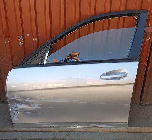 MERCEDES C-klasa W204 LIFT drzwi przednie lewe uszkodzone