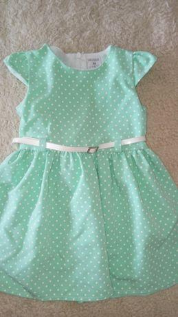Sprzedam sukienkę dla dziewczynki 86
