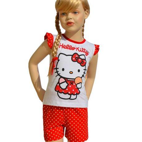 Piżama Hello Kitty rozmiar 116/122, 128/134