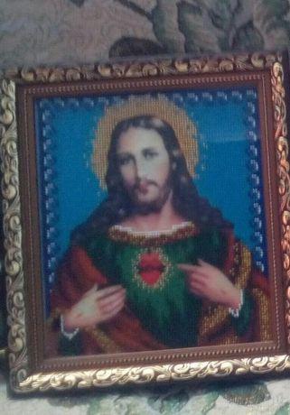 """Продам икону """"Иисус святейшее сердце"""""""