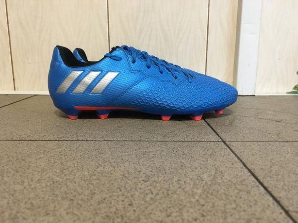 Сині футбольні кросівки копки бутси сороконожки шиповки бампи adiads