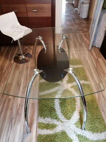 Sprzedam stół z blatem szklanym Agata Meble