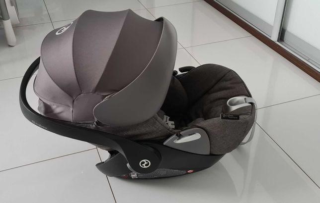 Fotelik Nosidełko Cybex Cloud Q Plus Platinum Manhattan Grey 0-13 kg