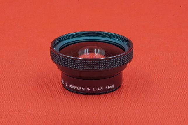 Konwerter szerokokątny Raynox HD-6600 Pro na obiektyw 55mm