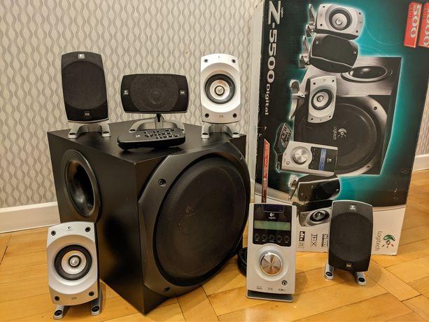 Zestaw głośników Logitech Z5500 THX kino domowe