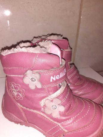 Buciki zimowe dziewczęce  Nelli Blu