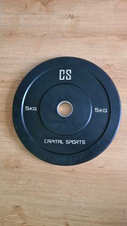 Talerz, obciazenie olimpijskie - capital sports - 5kg