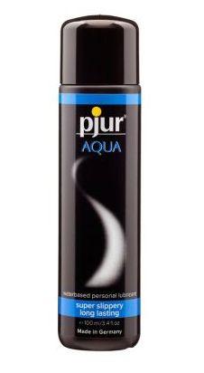 Лубрикант на водной основе pjur Aqua 100 мл, эффект бархатистой кожи б