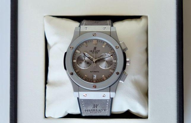 Мужские наручные часы Hublot Fusion Chrono Gray хронограф