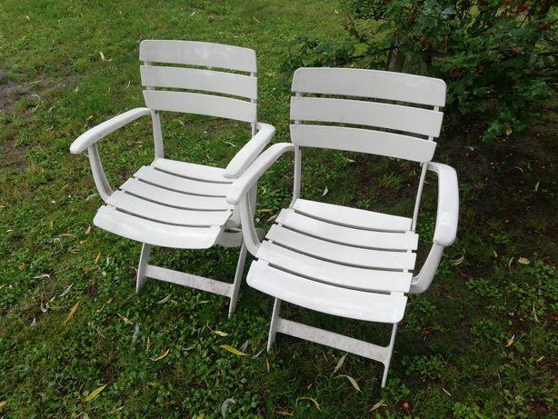 Krzesełka ogrodowe