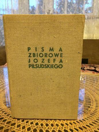 Książki zabytek antyk Józef Piłsudski Pisma Zbiorowe 1937 kilka tomów