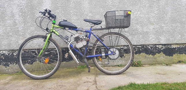 Rower z silnikiem zamienie