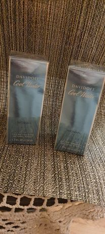 Perfumy Davidoff Cool Water Woman 50 ml, oryginalne 2 szt.