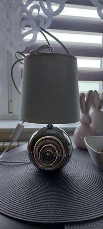 Srebrno-biała lampka nocna!