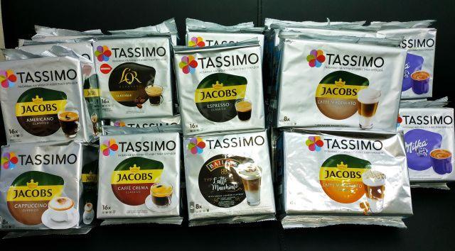 Кофе в капсулах Tassimo Jacobs 16 порций. Германия Тассимо Т-диск