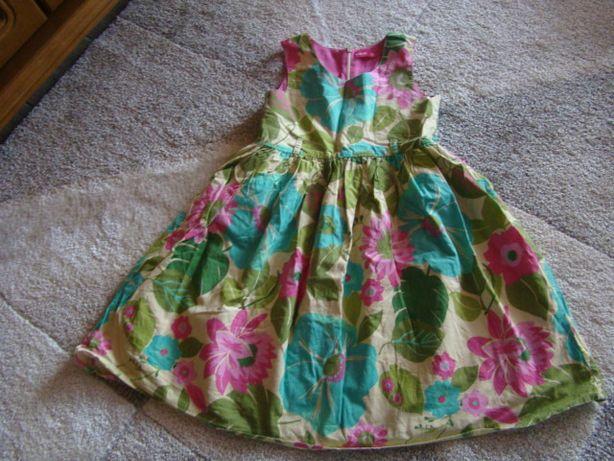 sukienka dla dziewczynki z 5.10.15.
