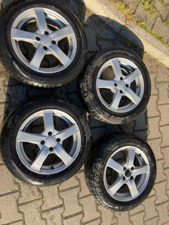 4 sztuki Felgi z oponami zimowymi 15 cali 4x100 Honda JAZZ