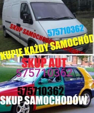 SKUP AUT Skup Samochodów Kupimy Każde Auto Kasacja Pojazdow