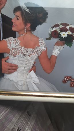 весільна сукня + подарок. Свадебное платье