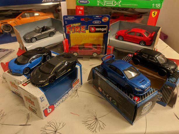 Miniaturas 1:43 Burago Bburago Nissan, Subaru, Honda, Mitsubishi